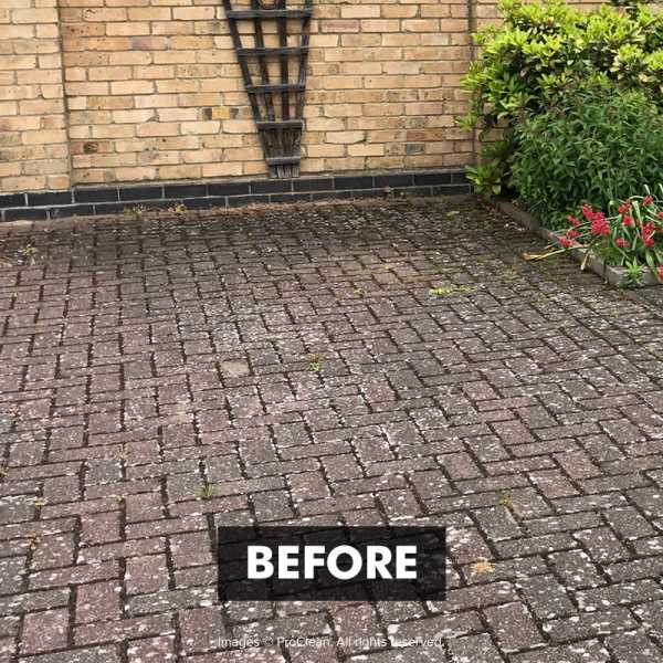 Before applying Paving-PRO Cleaner