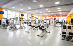 For sports use - gyms, sports centres, etc