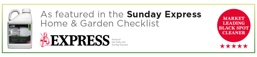 As featured in the Sunday Express Home & Garden Checklist