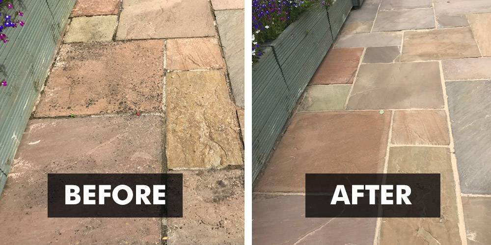 Universeal no more black spot - before and after client example