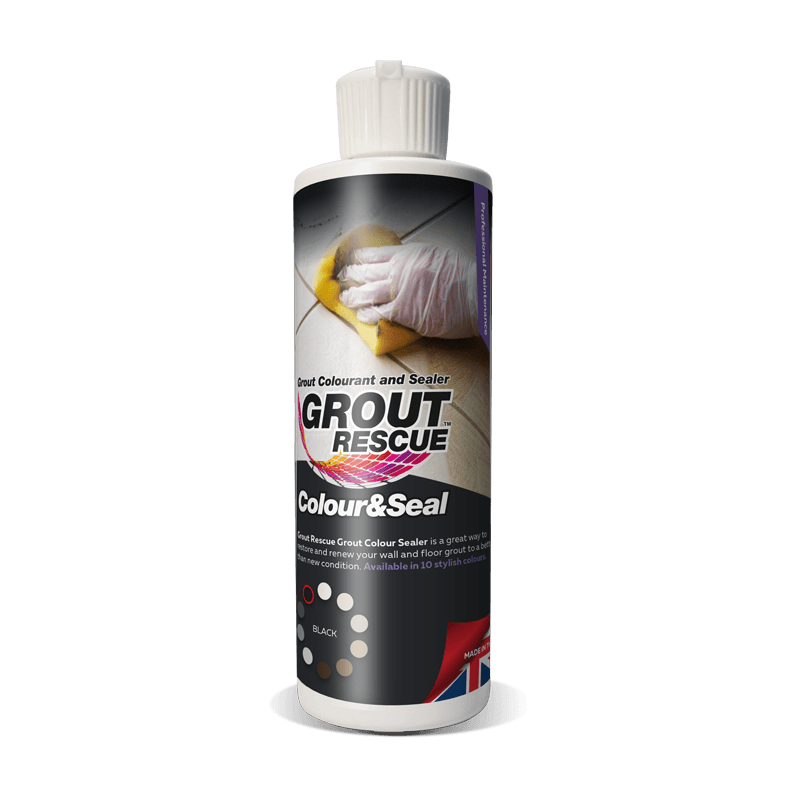 Universeal Grout Rescue Colour & Seal (237ml) Black