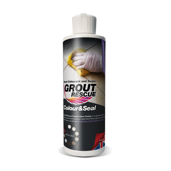 Universeal Grout Rescue Colour & Seal (237ml) Dark Grey