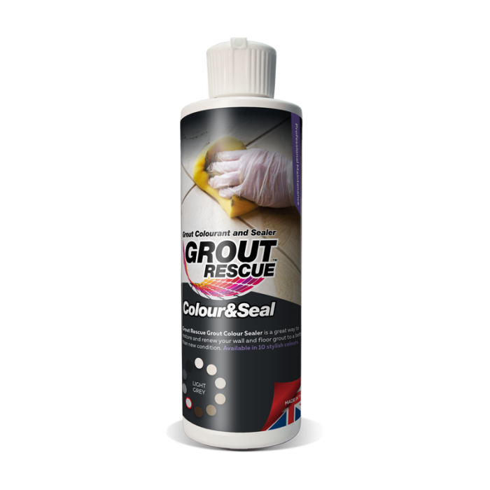 Universeal Grout Rescue Colour & Seal (237ml) Light Grey