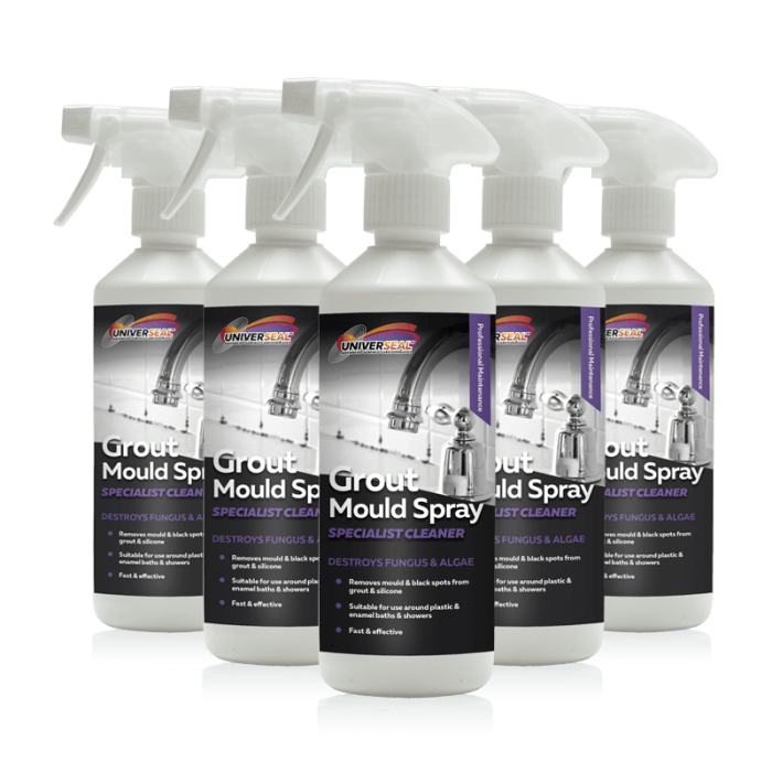 Universeal Grout Mould Remover Spray
