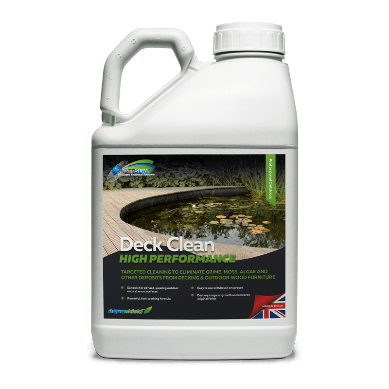 Deck Clean Is A Professional Cleaner For Garden Wooden Decking Areas