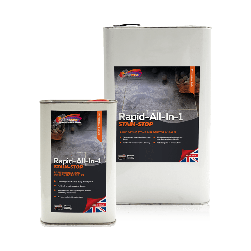 Universeal Rapid All-In-1 Stain Stop Stone Sealer