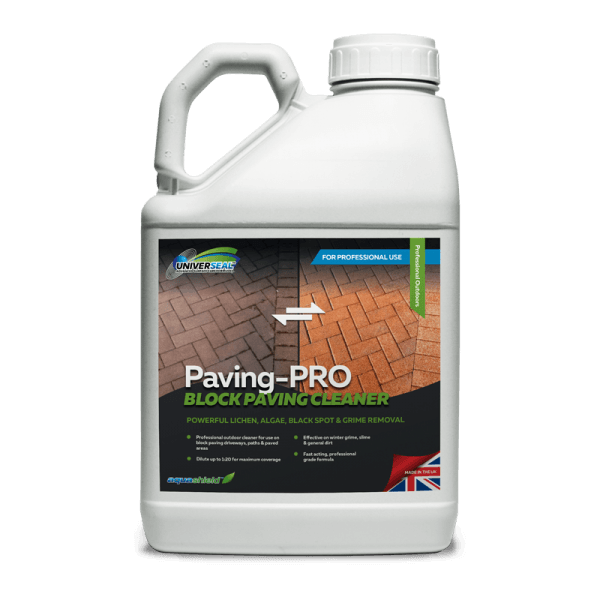Universeal Paving-Pro Block Paving Cleaner 5 litre