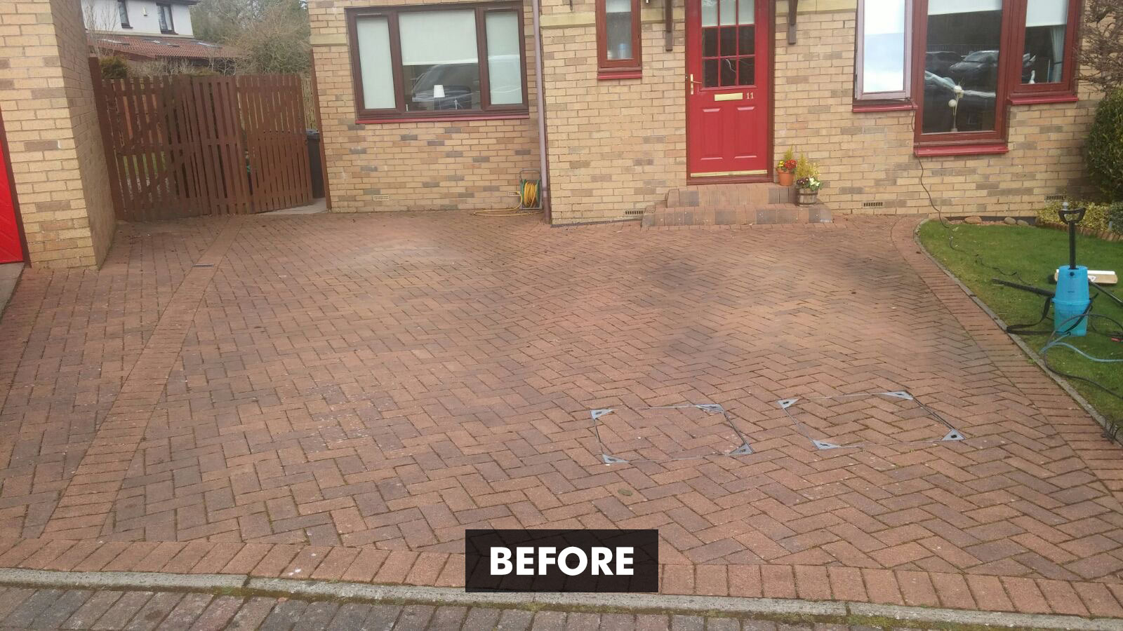 Universeal Paving-PRO Cleaner - before and after client example