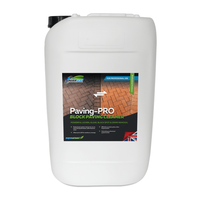 Universeal Paving-Pro Block Paving Cleaner 25 litre