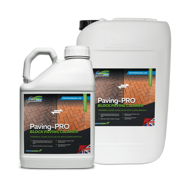 Universeal Paving-Pro Block Paving Cleaner Range