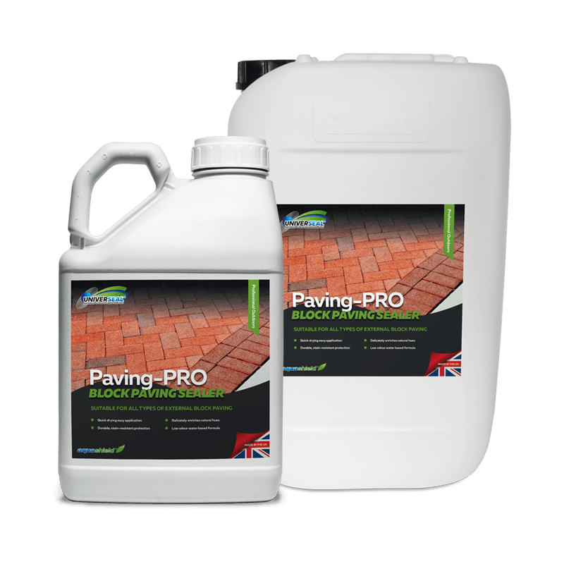 Universeal Paving-Pro Block Paving Sealer Range