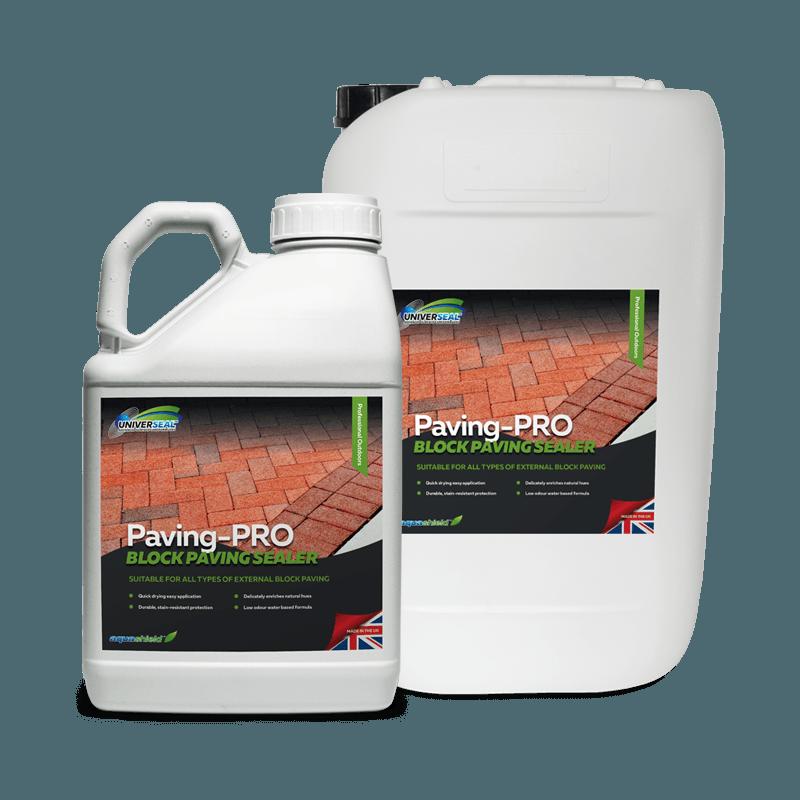 Universeal Paving-Pro Block Paving Sealer Range