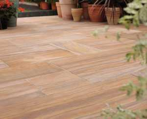 Sealing patio and paving