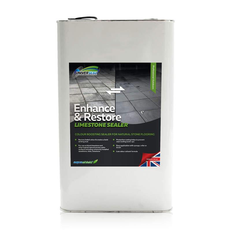 Universeal Enhance and Restore Limestone Sealer 5 litre