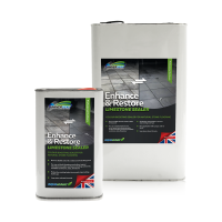 Universeal Enhance and Restore Limestone Sealer: ideal for reviving black limestone