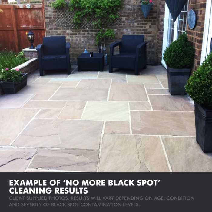 Universeal no more black spot - client example