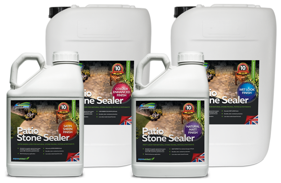 Introducing the Patio Stone Sealer range of outdoor patio sealers