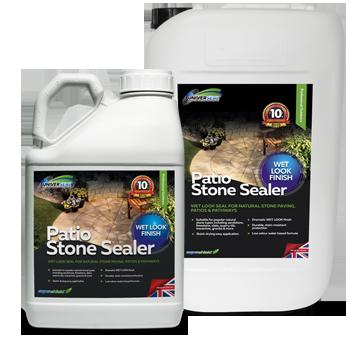 Universeal Patio Stone Sealer Wet Look