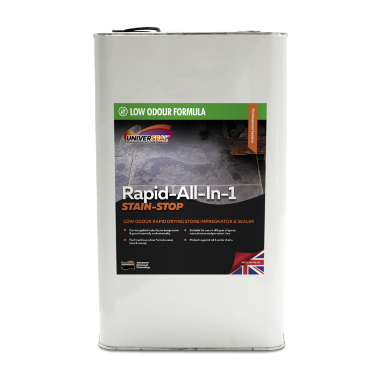Universeal Rapid All-In-1 Stain Stop Stone Sealer (Low Odour) 5 Litre