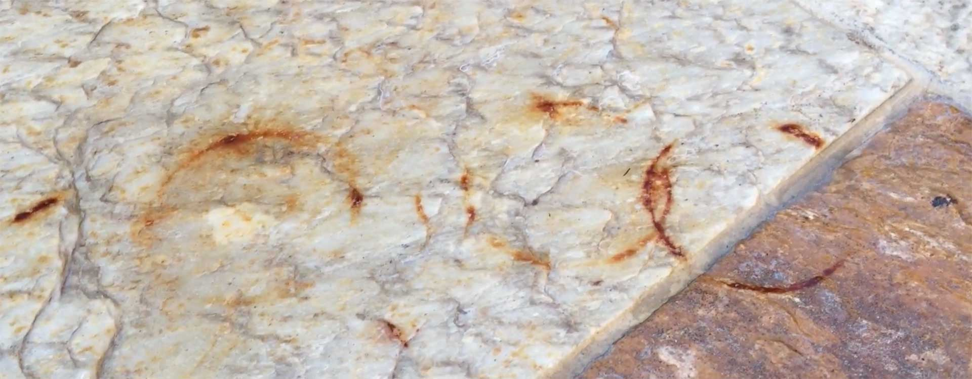 How to Remove Rust Stains from a Stone Patio