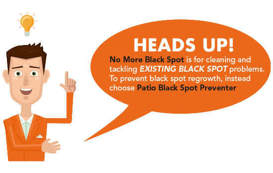 Customer Tip: choose the right black spot treatment