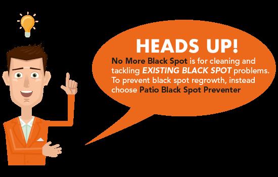 Customer Tip: choose the right black spot treatment