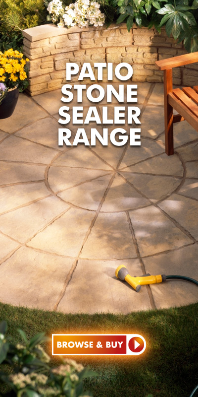 Shop our Patio Stone Sealer Range